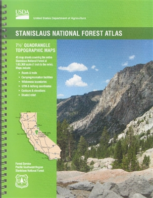 Stanislaus National Forest Maps Publications - Us forest service topo maps