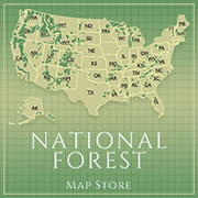 National Forest map store graphic