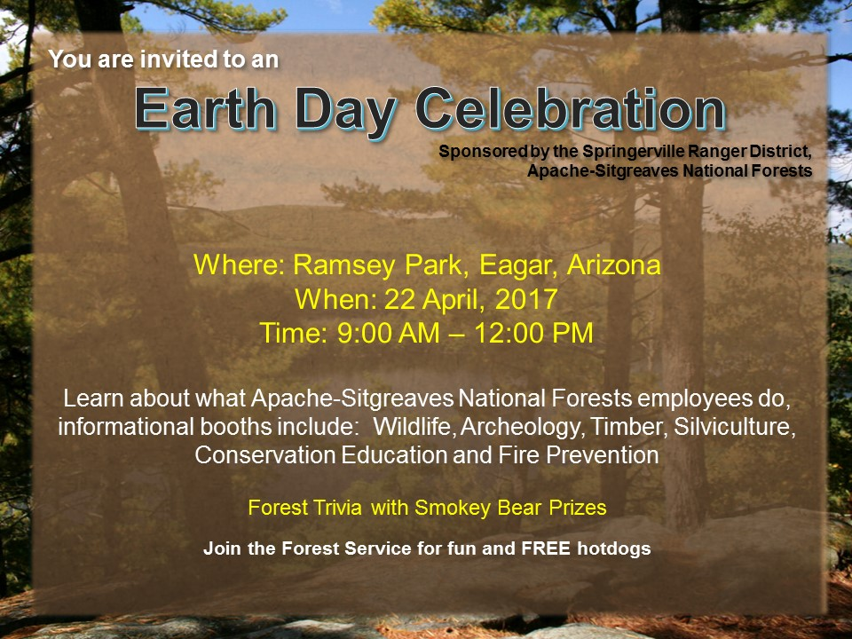 Earth Day Celebration at Ramsey Park