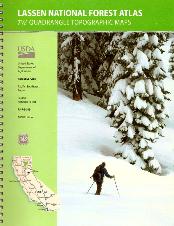 Lassen National Forest Maps Publications - Us forest service topographic maps