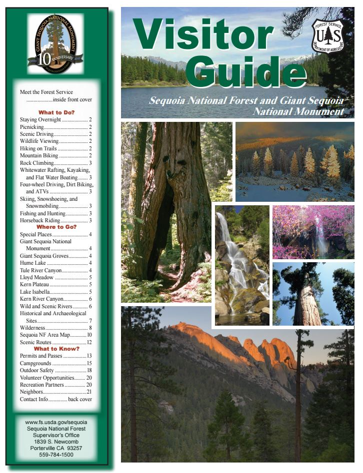 Screenshot Visitor Guide