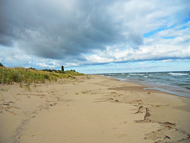 Nordhouse Dunes Wilderness Area on Lake Michigan