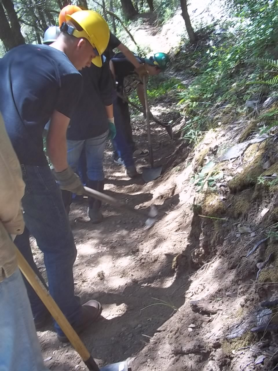PCT Trail Work