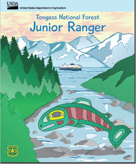 Tongass National Forest Jr. Ranger Booklet