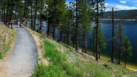 Lake Como National Recreation Trail