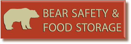 Stay safe by following the regulations while in bear country.