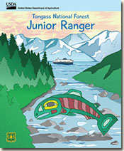 Tongass Jr Ranger Program cover.