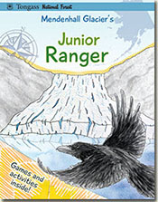 Mendenhall Glacier Jr Ranger Program cover.
