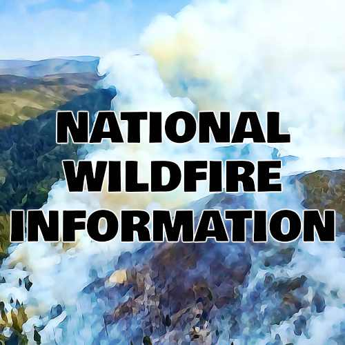 NATIONAL WILDFIRE INFORMATION BUTTON