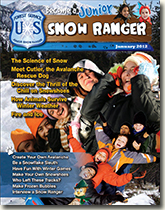 Cover page from the Jr Snow Ranger Book.