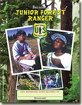 National Junior Ranger Program Cover Page.