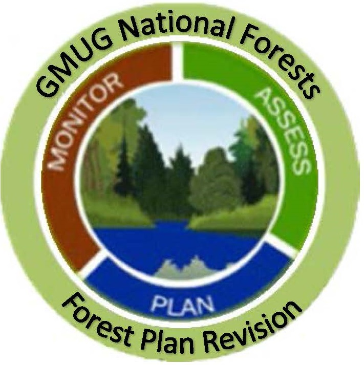 graphic: Forest Plan Revision Logo