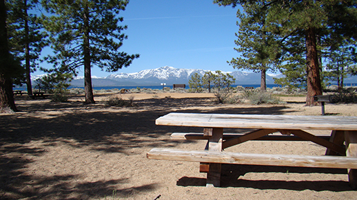 Nevada Beach on Lake Tahoe's East Shore