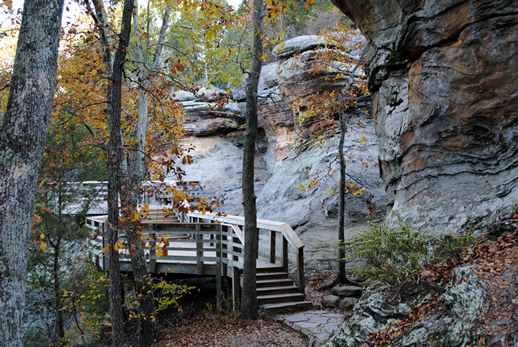 Shawnee National Forest Garden Of The Gods Recreation Area