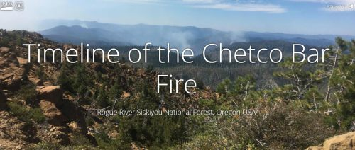Chetco Bar Fire Map Rogue River Siskiyou National Forest   Home