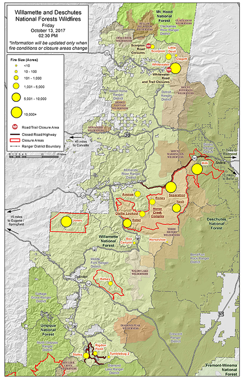 A Link That Takes You To A Fire Overview Map