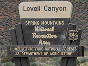 2017_Lovell Canyon Sign