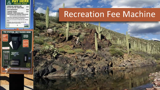 Recreation Fee Machine