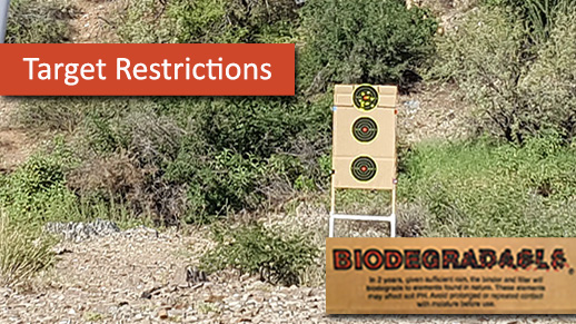 New Target Restrictions