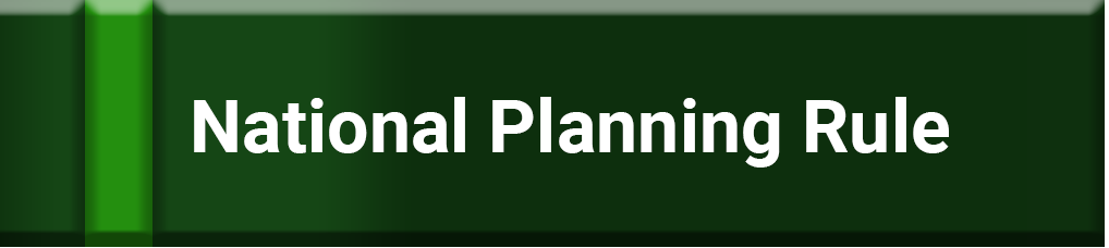 Green button to click on to access the National Planning Rule information.