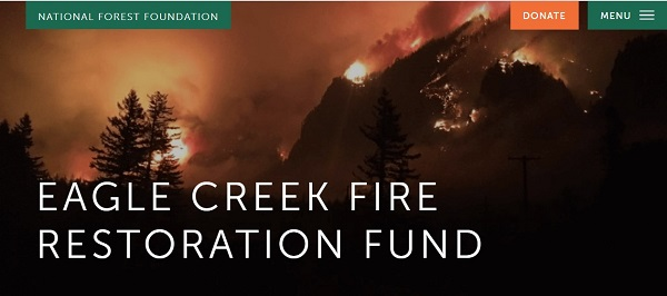 Graphic: Eagle Creek Fire Restoration Fund
