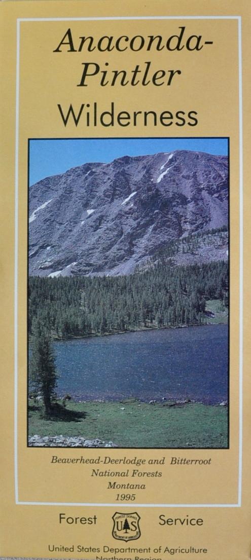 BeaverheadDeerlodge National Forest Maps Publications - Us forest service maps montana