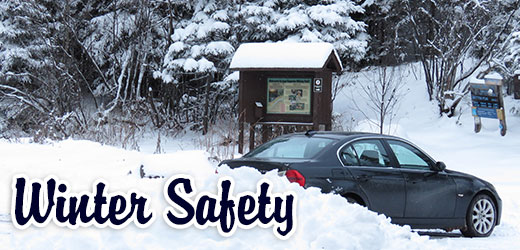 Winter safety tips for traveling on the Superior National Forest