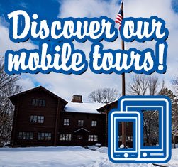 Explore the forest with our new mobile tour app.