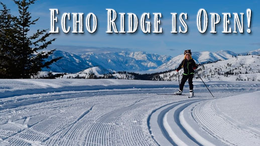 Skier at Echo Ridge