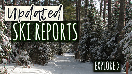 Check out the newest ski reports on the forest.