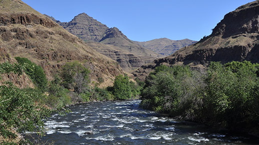 Imnaha River Hells Canyon