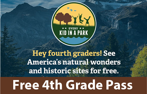 Click here for the Every Kid in a Park 4th Grader Pass for free