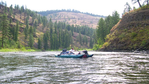 Rafting on the Grande Ronde River