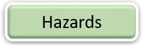 Graphic: Hazards text. Select to find out more.