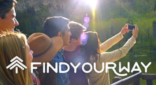#FindYourWay homepage image