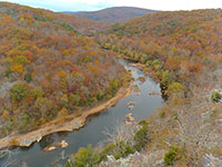 Overlooking St. Francis River