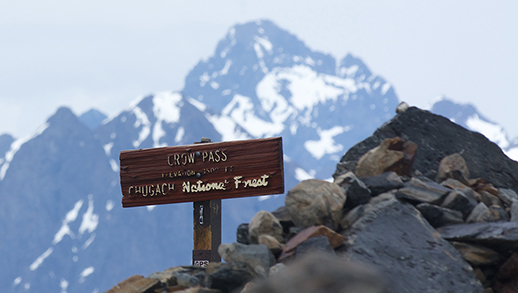 Crow Pass on the Chugach National Forest.