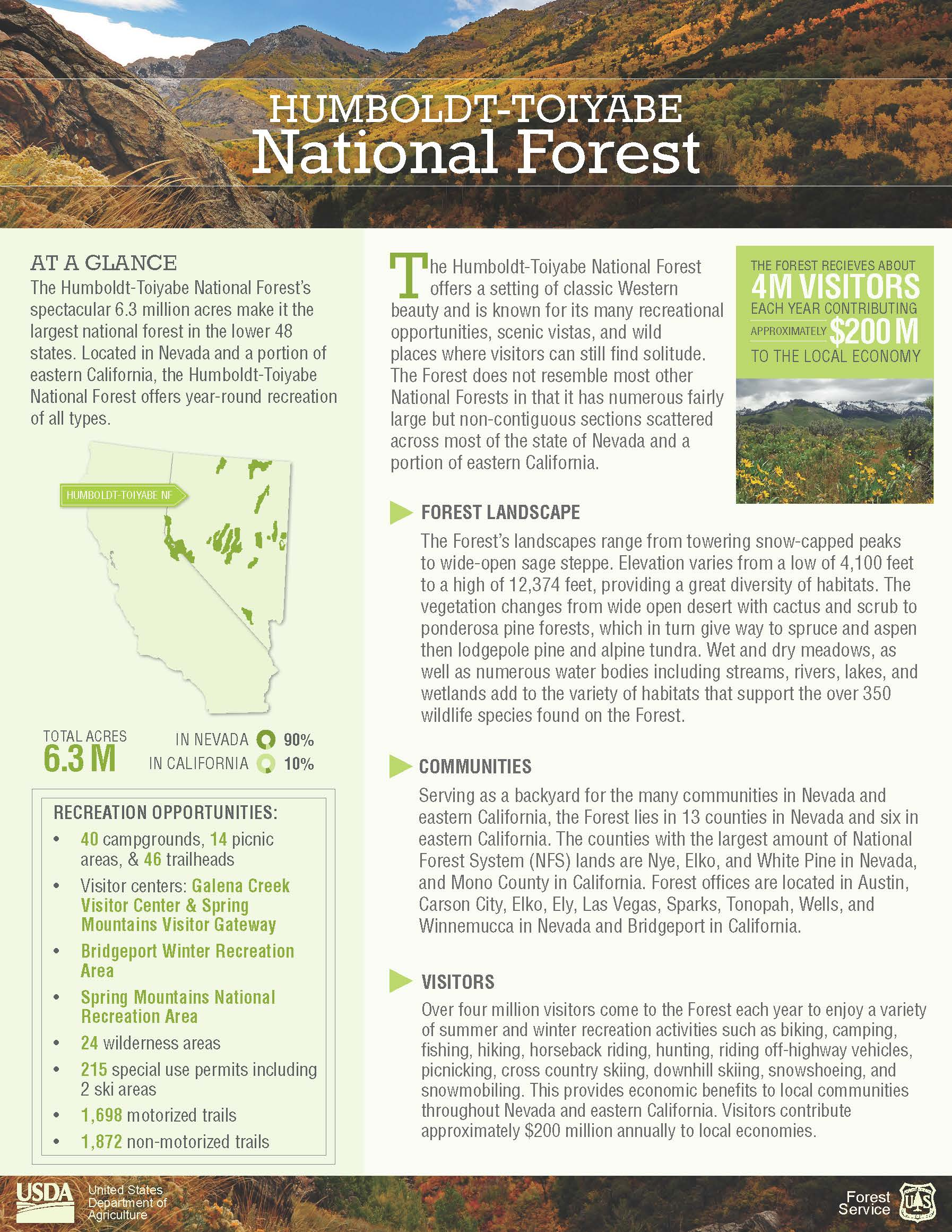 2017 Forest Fact Sheet