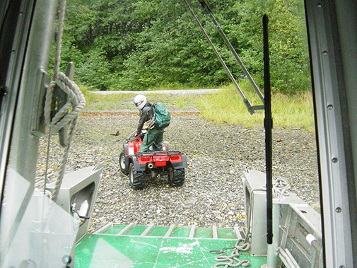 ATV use on the Tongass