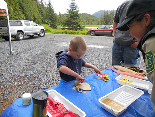 Kids at Wrangell Kids Fishing Derby