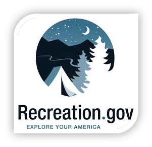 photo of the logo used for link to recreation.gov