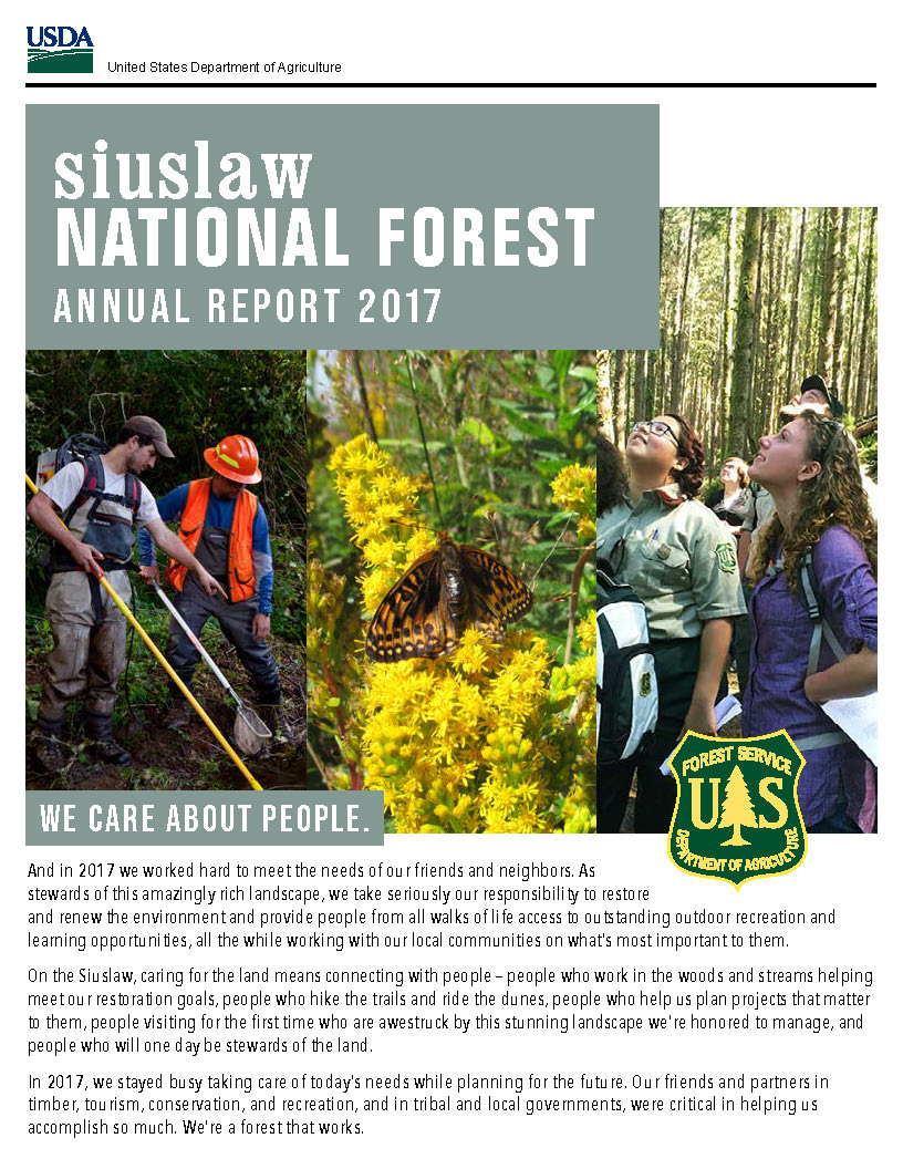 cover photo of 2017 annual report