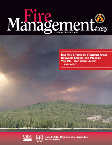 Cover of Fire Management Today handout