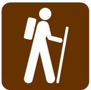 hiker graphic