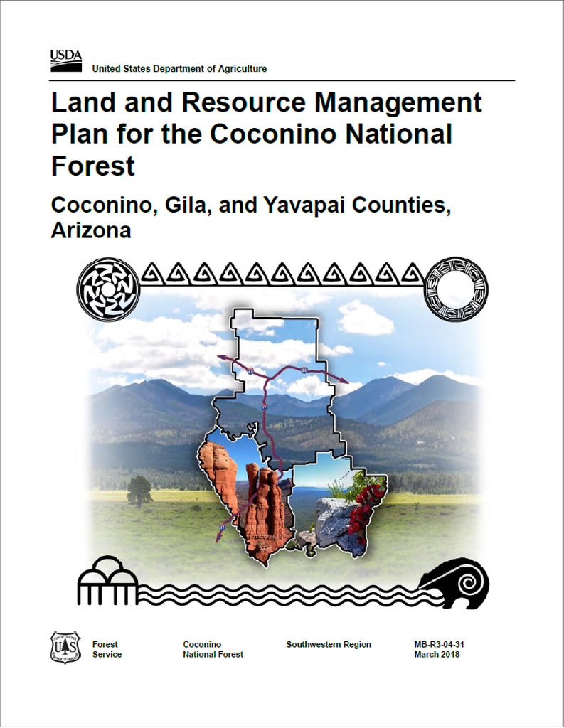 Land and Resource Management Plan for the Coconino National Forest