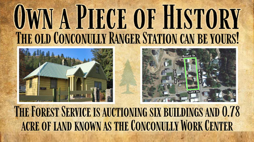 Conconully Ranger Station Auction