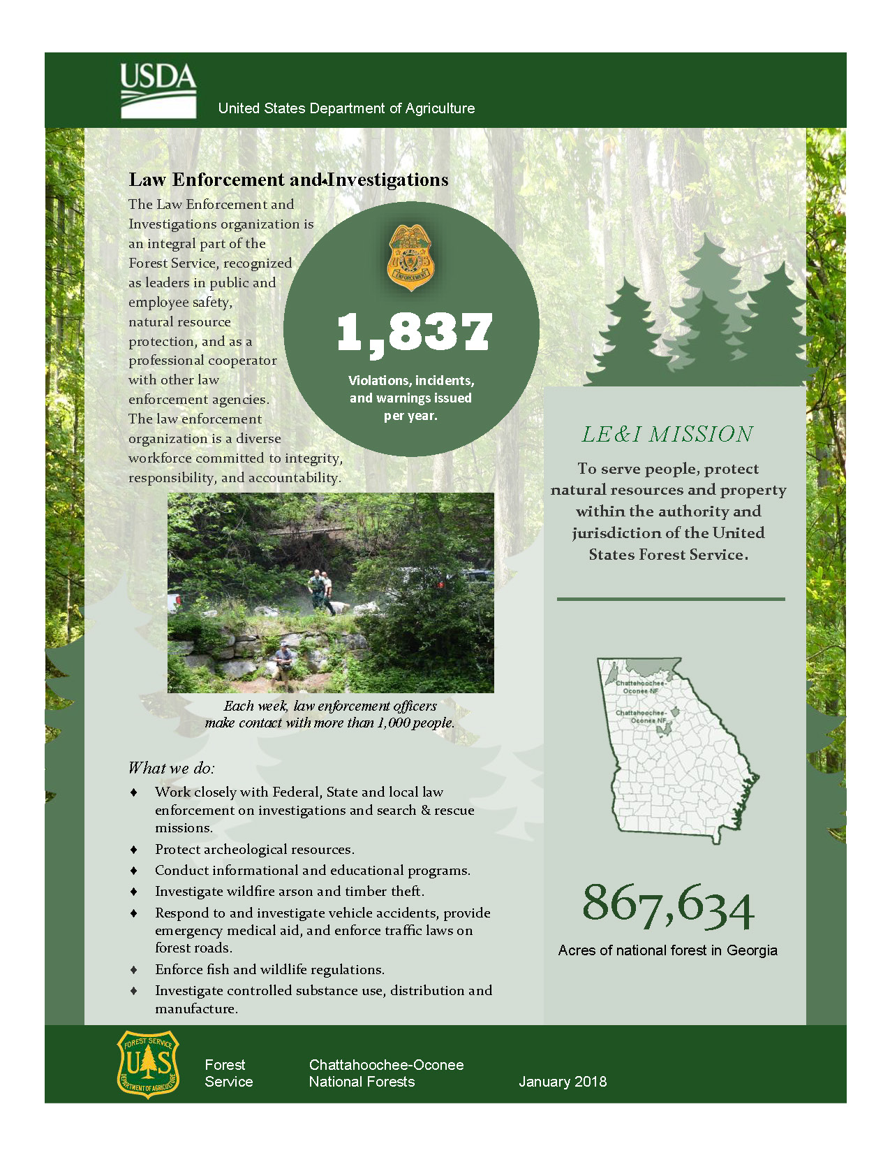 Forest Service Law Enforcement & Investigations
