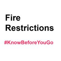 Graphic that says Fire Restrictions