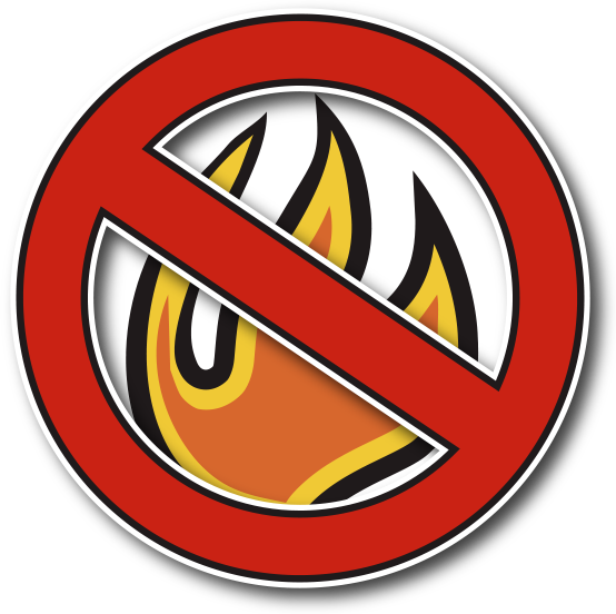 No campfires icon