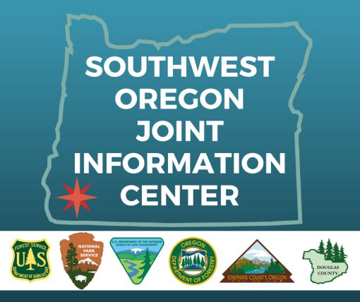 SW Oregon Joint Information Center button